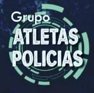 grupo atletas policias